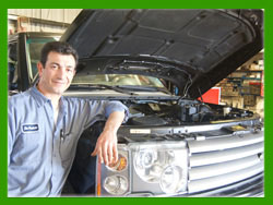 Land Rover service & Land Rover repair