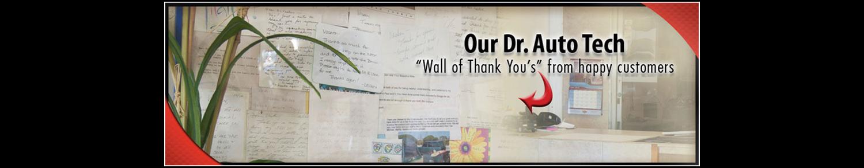 customer reviews wall